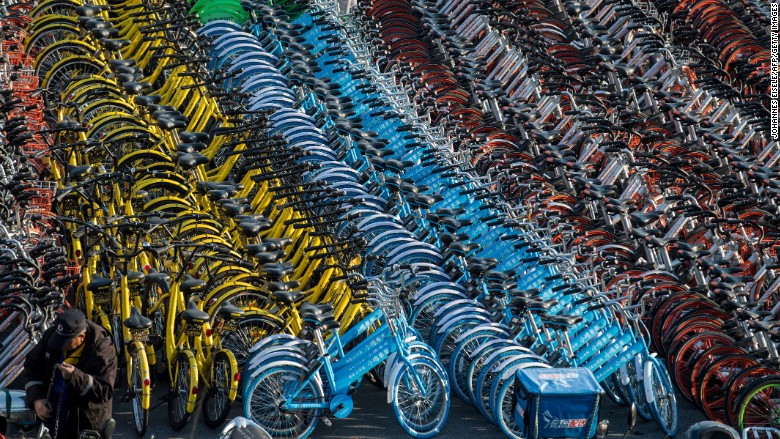 china shanghai bike sharing