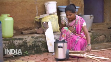 How a 'biomass stove' could change the way rural India cooks