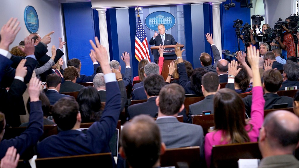 Are WH briefings now a waste of time?