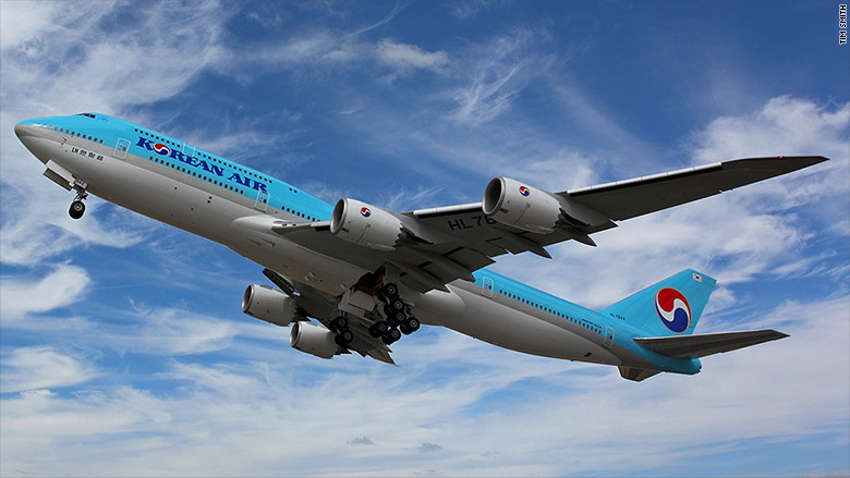 final boeing 747 korean air