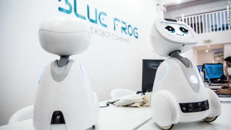 blue frog robotics