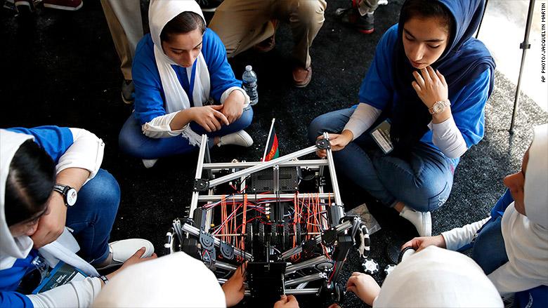 afghanistan womens robotics