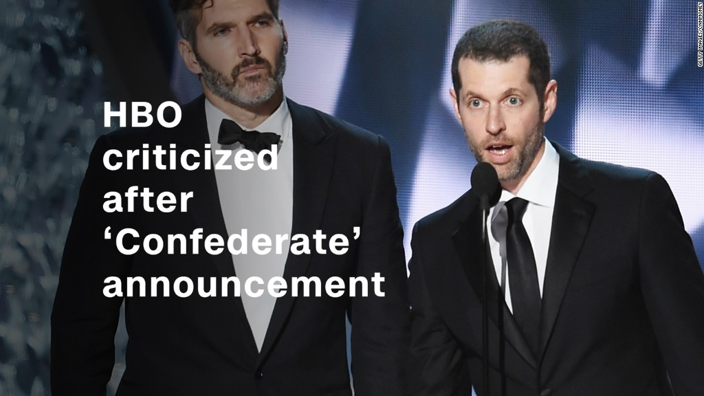 HBO's 'Confederate' announcement draws backlash