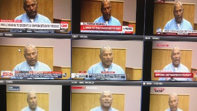 O.J. Simpson hearing: A blast from the media past