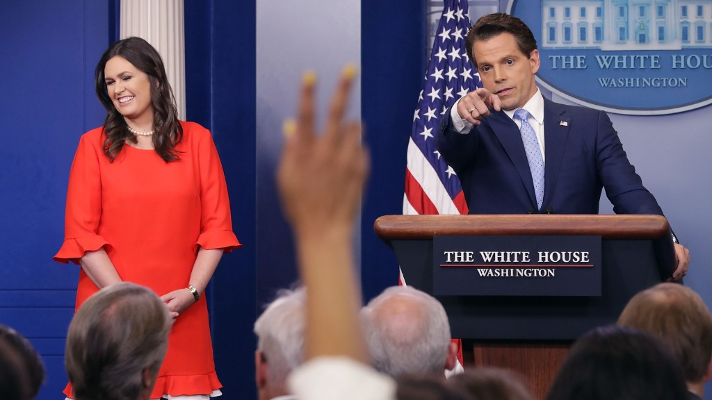 Will WH shake-up lead to more combative press strategy?