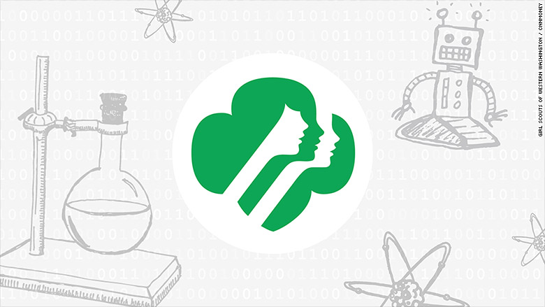 girl scouts add new badges for science tech engineering