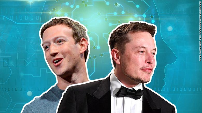 mark zuckerberg elon musk artificial intelligence