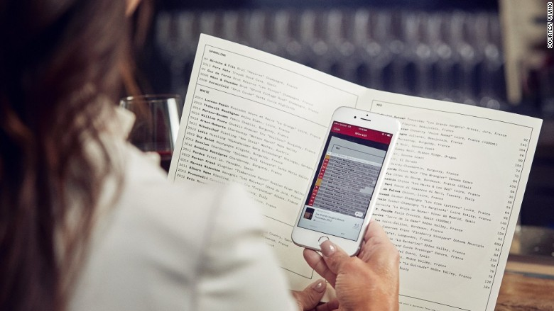 vivino wine list scan