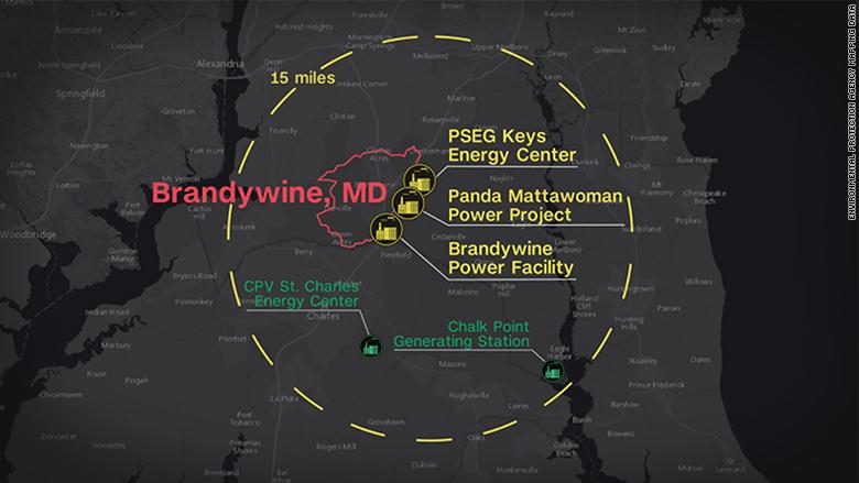 brandywine map