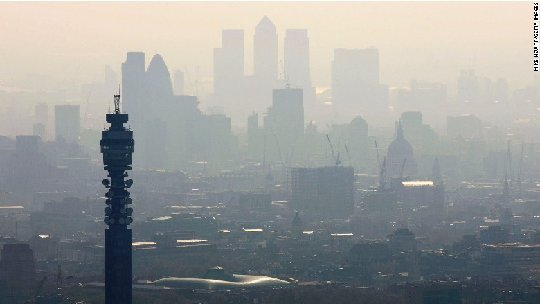 london pollution