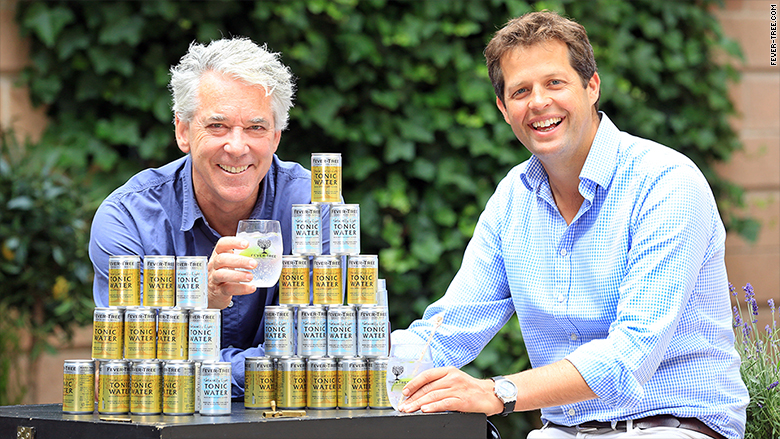 fever tree charles tim with cans
