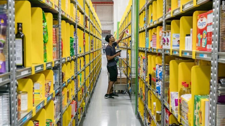Amazon fulfillment center Singapore