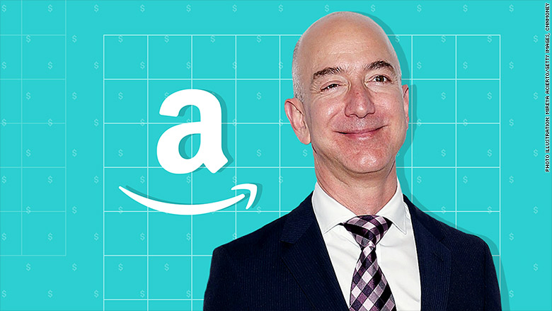amazon ceo jeff bezos now richest person in history