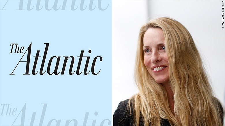 laurene powell jobs the atlantic