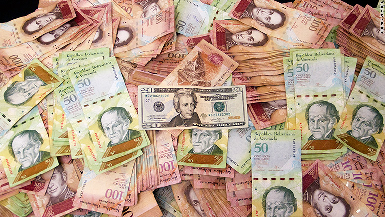 venezuela cash crisis currency