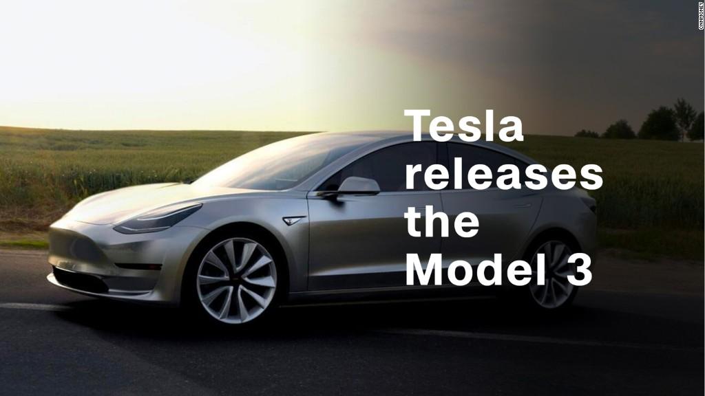 Tesla releases Model 3