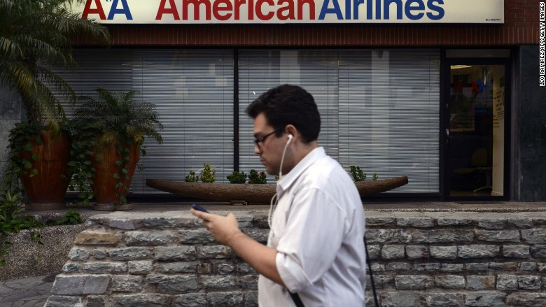 american airlines venezuela