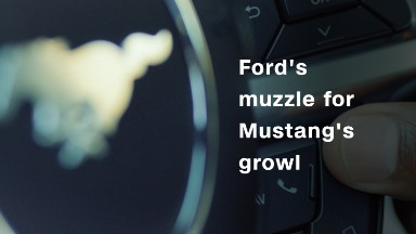 Ford offers a muzzle for the Mustang's growl