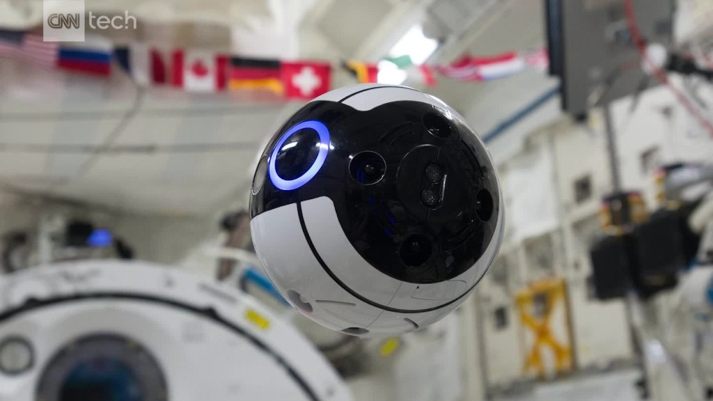 Space station drone looks like BB-8