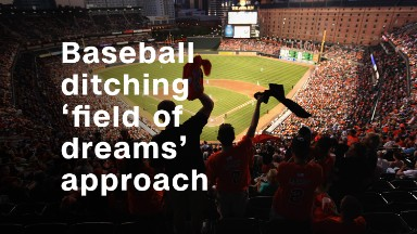 Why baseball can't have a 'field of dreams' approach