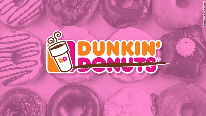 dunkin donuts name