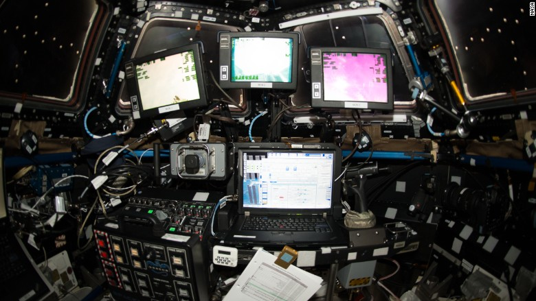 nasa international space station computers