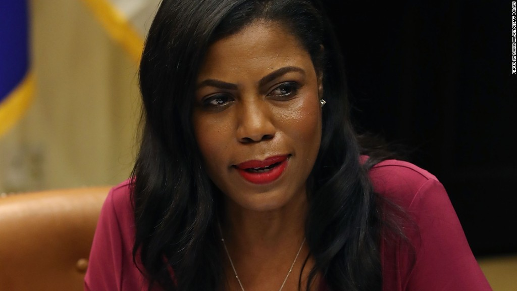 Omarosa's new book is 'Unhinged'