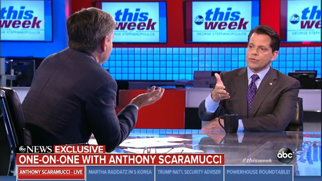 Scaramucci on Trump and Charlottesville