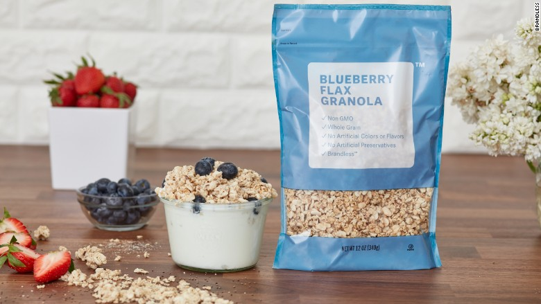 brandless blueberry flax granola