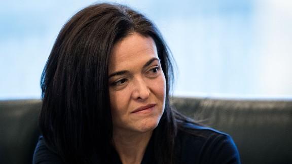 Sheryl Sandberg: Men run the world and it's not going that well