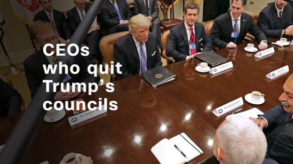 Intel CEO is the latest to leave Trump's manufacturing council