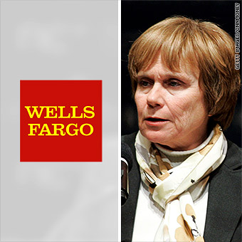 Wells Fargo names female chairman, a first for a top U S  bank