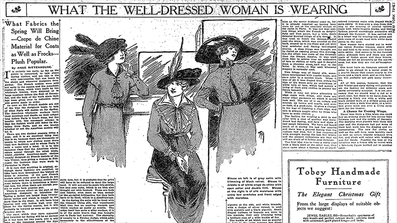 womens workwear history 1
