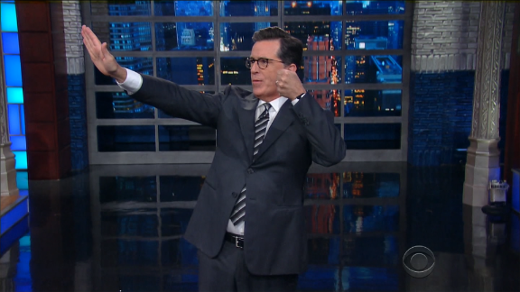 On late-night TV, Trump's no laughing matter anymore