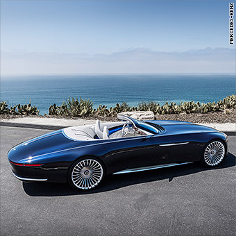 Mercedes Unveils Stunning Super Long Luxury Convertible