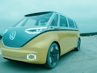 Far Out Vw Plans An Electric Hippie Bus