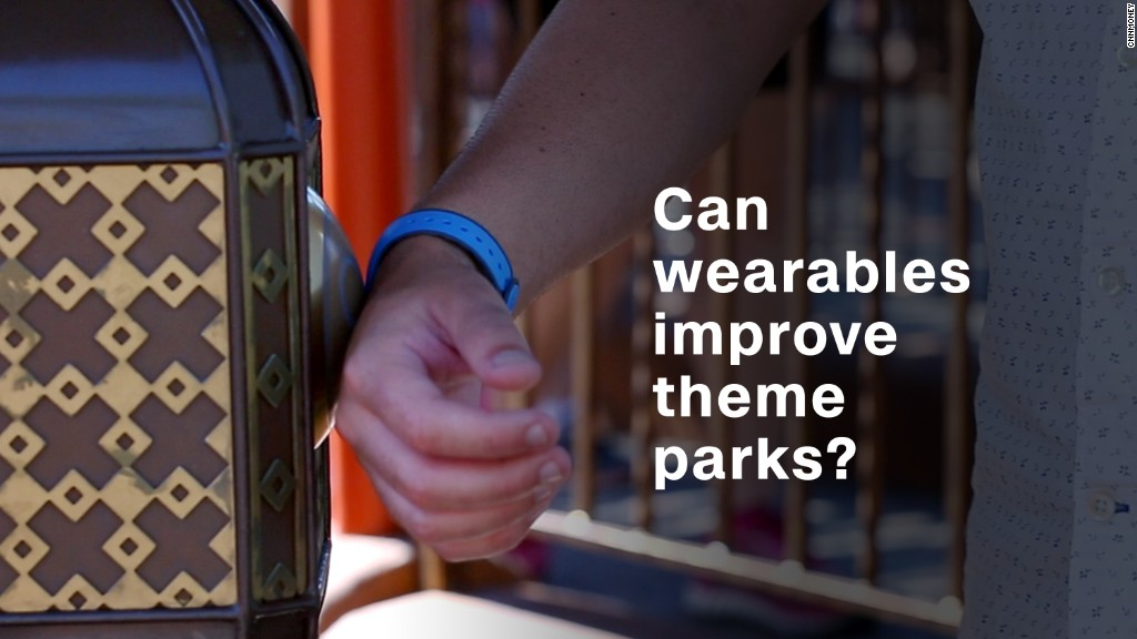 Can wearable tech make theme parks better