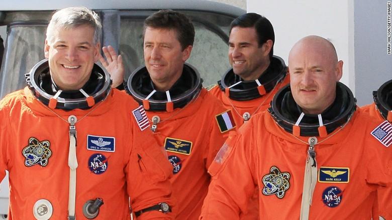 Astronauts Endeavor April 2011