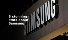 5 stunning stats about Samsung