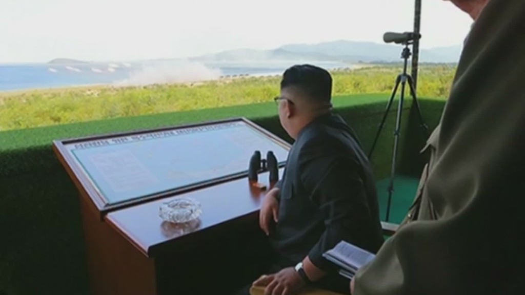 North Korea launches trio of missiles
