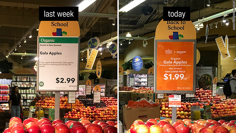 whole foods price drop apples