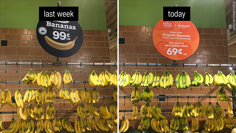 whole foods price drop bananas