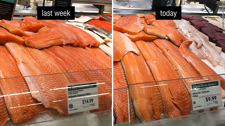 whole foods price drop salmon