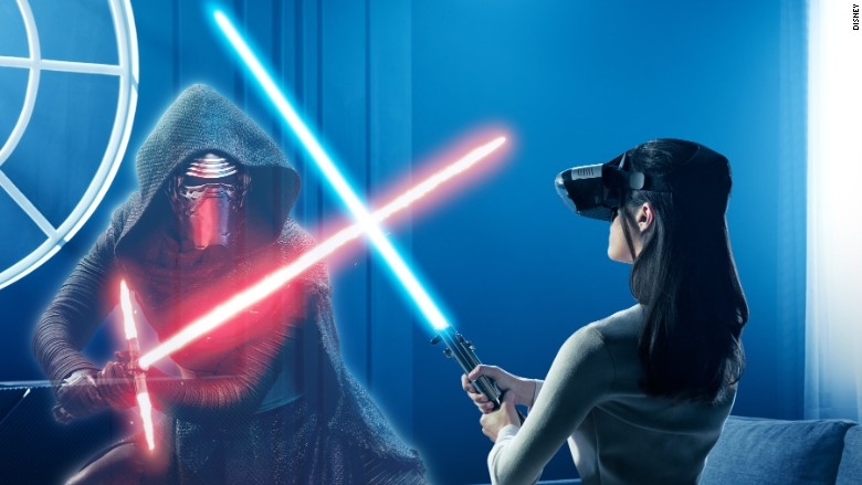 Star Wars lenovo AR