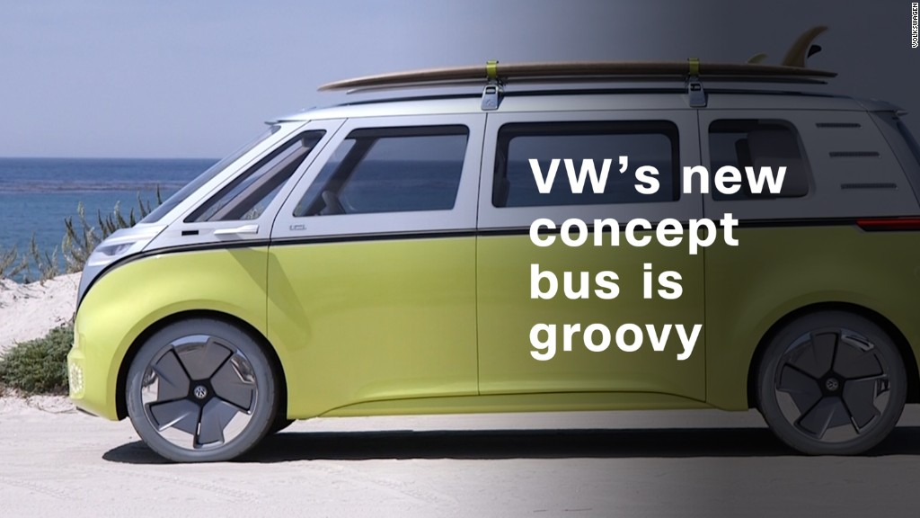 Volkswagen's electric concept bus is far out, man