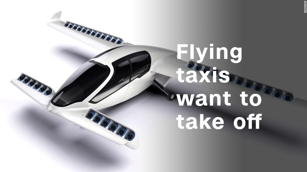Flying taxis want to take off