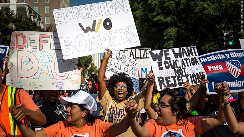 daca protests education