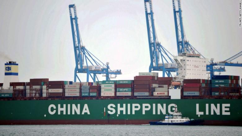 china shipping line ship