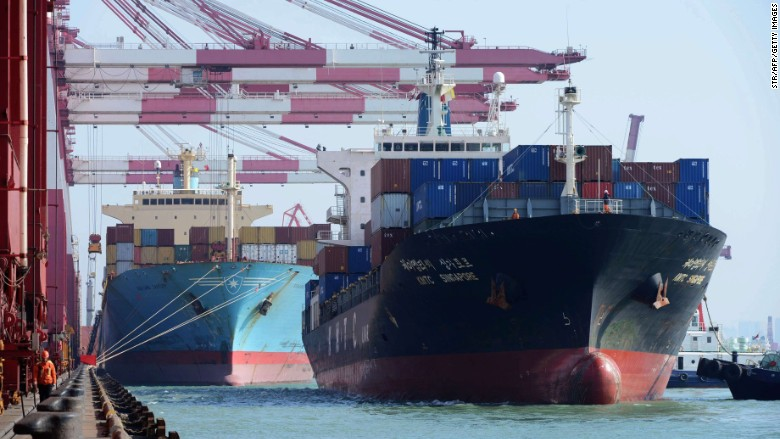 china container ship Qingdao