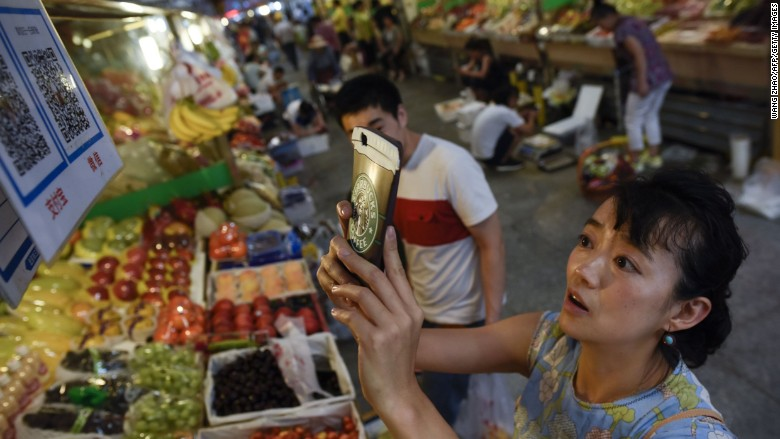 china qr code market